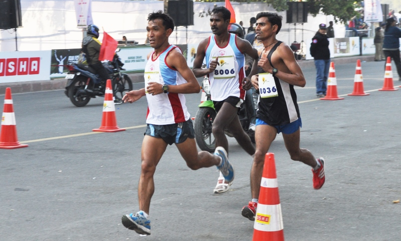 Bining Lynkhoi, India's leading Marathon runner