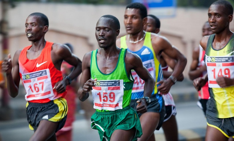 Kenyans sweep Pune International Marathon